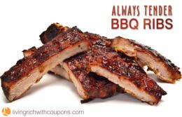 Always Tender BBQ Ribs