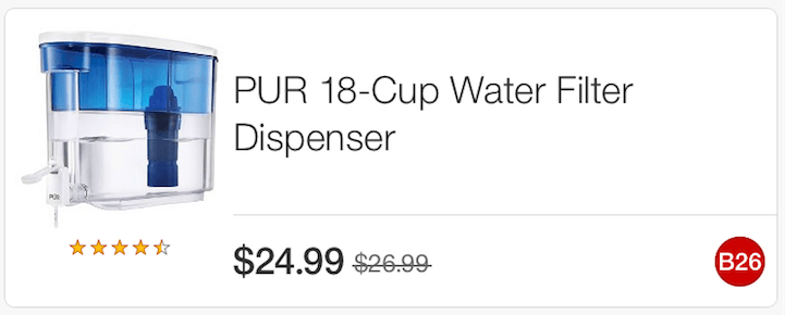 7 In New Pur Water Filtration Coupon Deals At Target