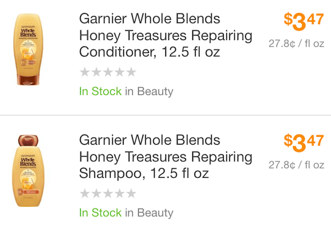 Garnier coupons walmart