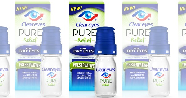 New 3 1 Clear Eyes Pure Relief Coupon Walmart Amp Target Deals Living Rich With Coupons 174