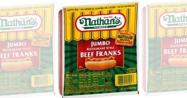 photo regarding Nathans Hot Dog Printable Coupons called Uncommon! Purchase 1, Choose 1 For $0.05 Nathans Scorching Pet dog Coupon