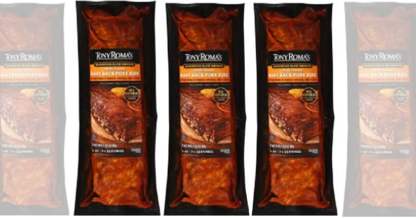rare   3 in new tony roma u0026 39 s ribs coupons   great deals