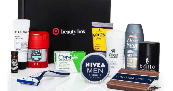 target mens beauty box