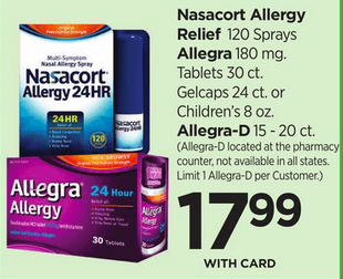 graphic relating to Nasacort Coupon Printable known as 3 Fresh Nasacort Coupon codes - Preserve $12 + Promotions at Walgreens, Ceremony