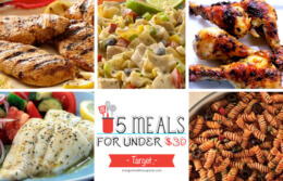 Free Weekly Meal Planning at Target
