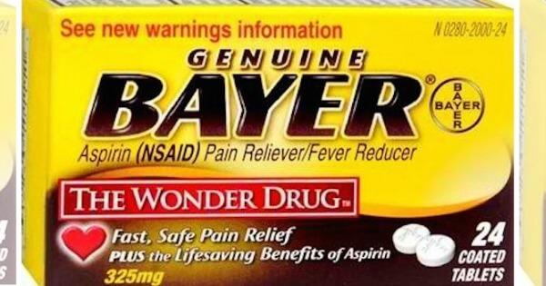 Bayer aspirin $2 off coupon