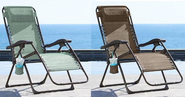 Kohl s SONOMA Goods for Life Patio Antigravity Chair $25 49 Reg $139 9