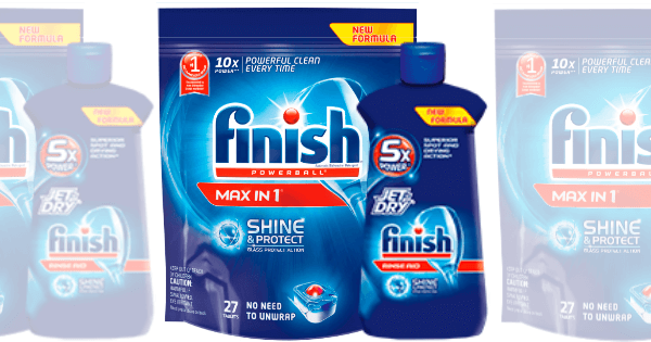 Finish dishwasher tablets coupons
