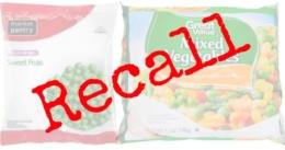 frozen vegetables recall