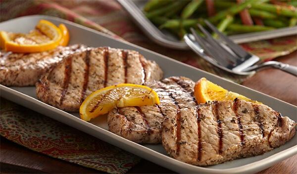 Italian Herb Pork Chops