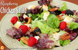 Raspberry Chicken Salad