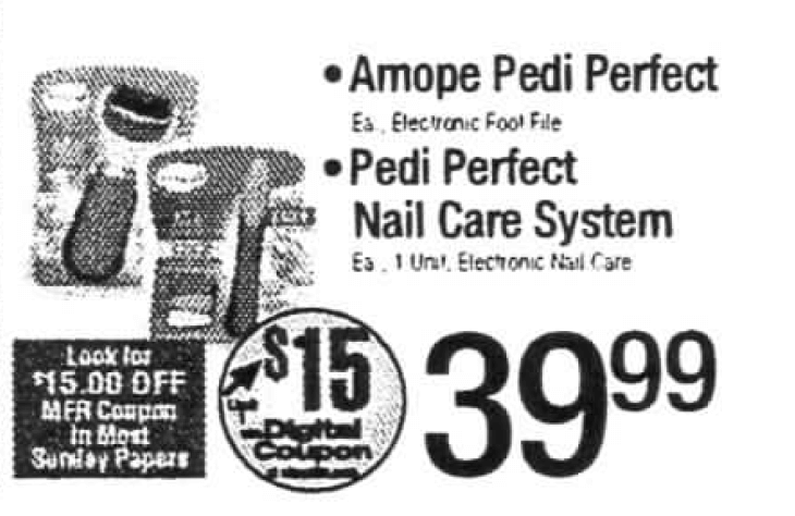 photo relating to Amope Printable Coupon identify Amope pedi suitable coupon code : Business office max coupon codes