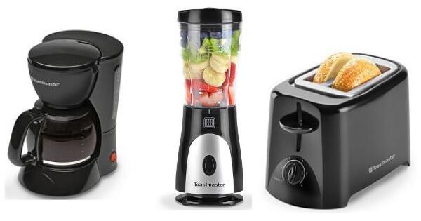 Kohl S Toastmaster Coffee Maker Toaster Or Mini Blender