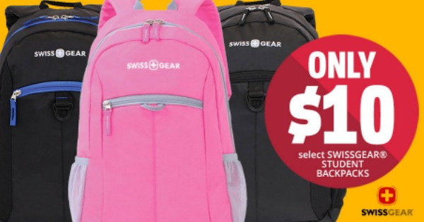 Office Depot/OfficeMax: $10 Swiss Gear Backpack (Reg. $35.99)   ...