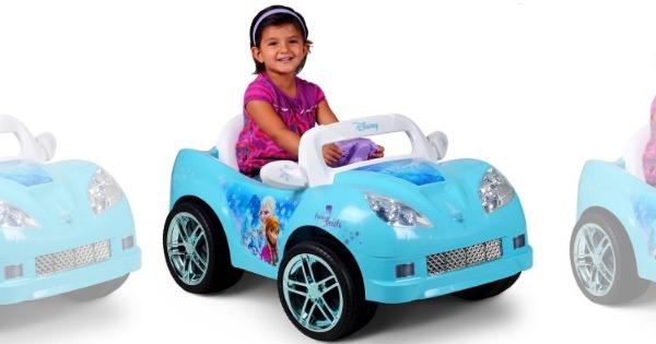 Disney Frozen Convertible Car  Volt Battery Powered Ride On Charger