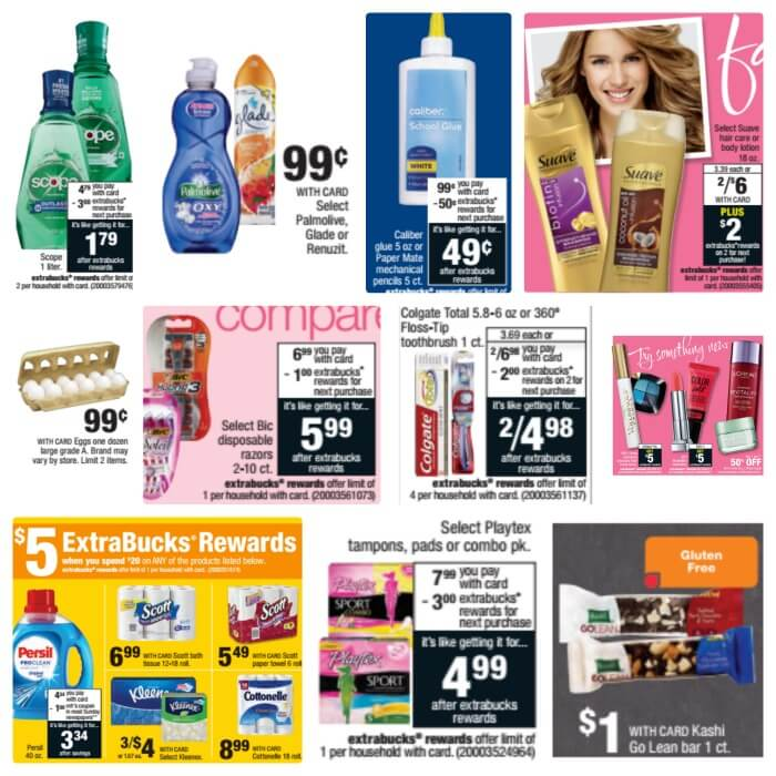 CVS ad week of 82116