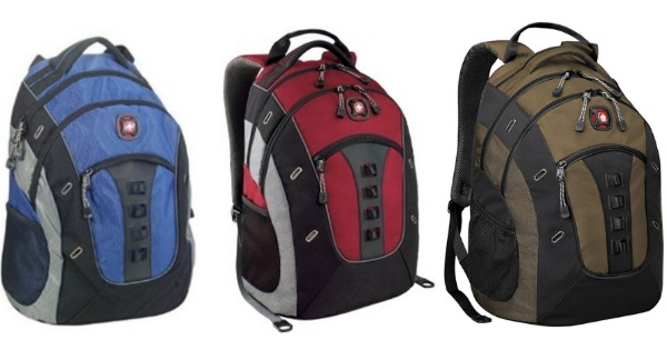 Swiss Gear Granite Deluxe Laptop Backpack $29 (Reg. $79.95)   Free ...