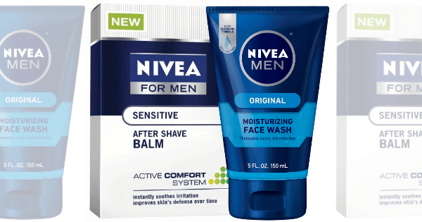 New $2/2 Nivea Men's Products Coupon - $0.99 Shave Gel at ShopRite & More!