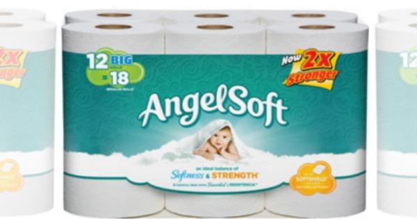 angel soft. New Coupon  Angel Soft Bath Tissue Just  0 24 Per Roll at CVS