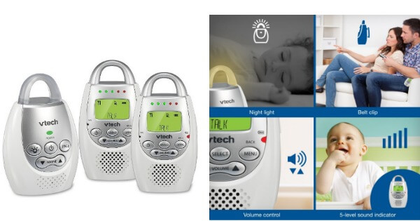 Vtech Safe Amp Sound Dm221 2 2 Parent Digital Audio Baby