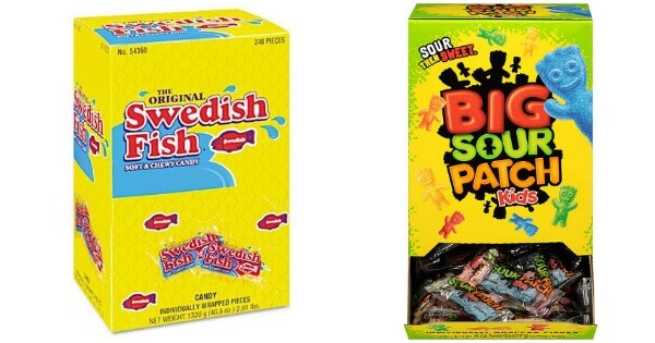 Kmart swedish fish candy sour patch kids candy get 100 for Sour swedish fish