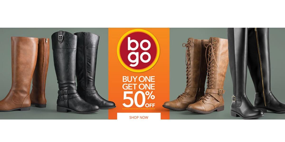 Shoe Store Bogo Sale
