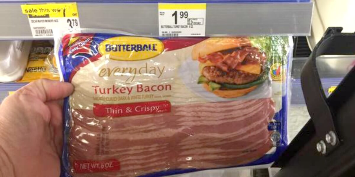 Butterball Turkey Bacon Just 0 74 At Walgreens Living