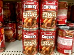 Campbells chunky soup dollar general