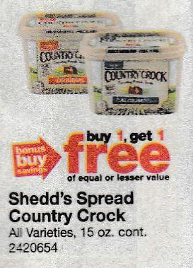 Shedd's country crock coupon printable