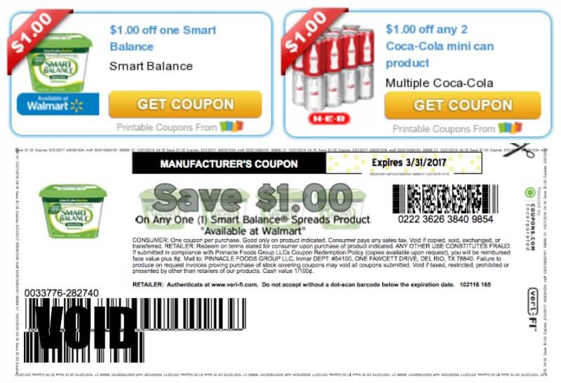 Nutrition smart printable coupons