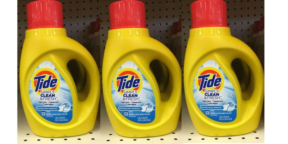 Tide Simply Clean Laundry Detergent $0.95 at Dollar General!