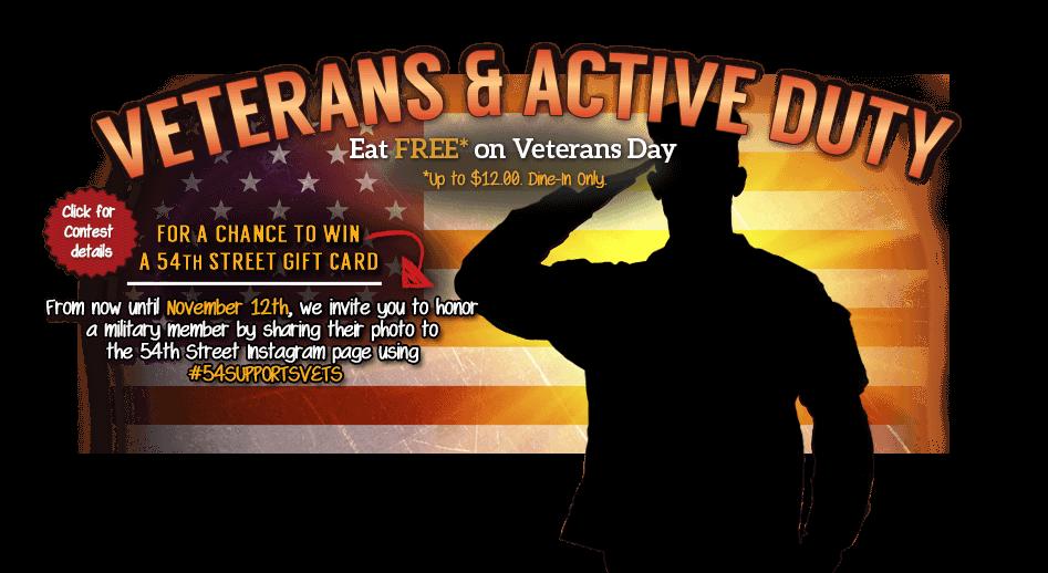 Veterans Day At California Pizza Kitchen