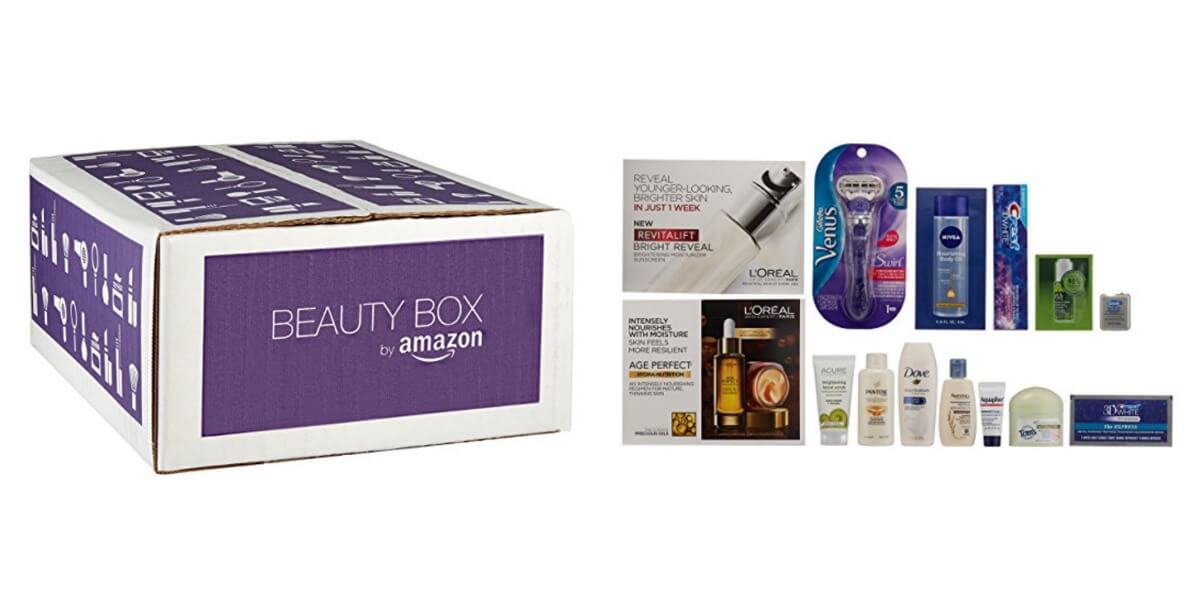 Prime Members Only: Beauty Sample Box $11.99 ($11.99 credit with ...