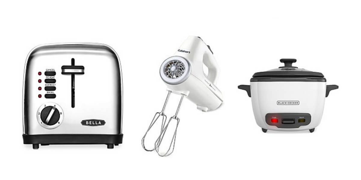 Macy 39 S Small Kitchen Appliances After Rebate Reg Rich With Coupons