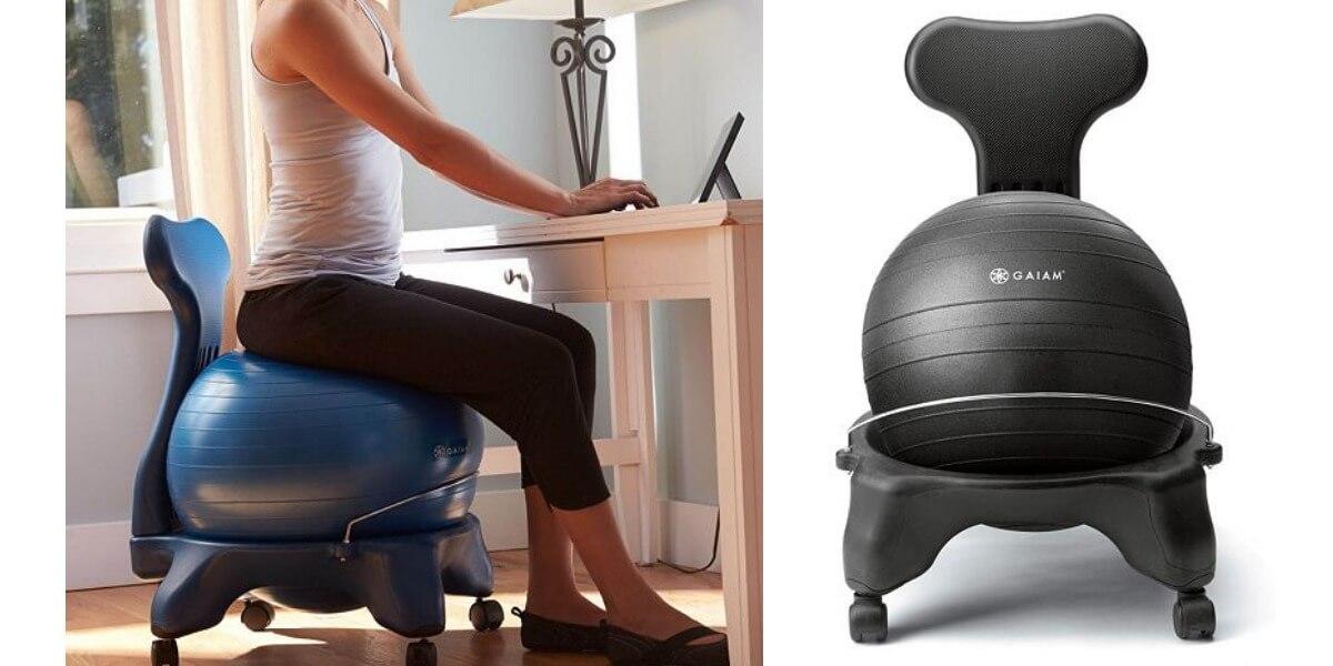Gaiam Classic Balance Ball Chair 47 99 Reg 99 99 Free