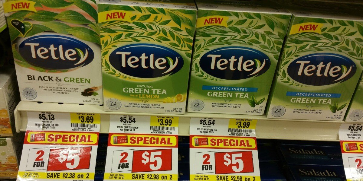 Green Tea At Giant Food Stores