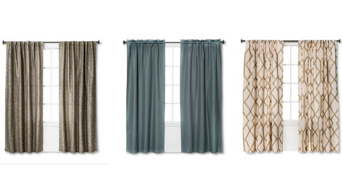 target 30 off window curtains plus additional 10