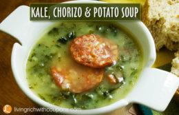 Kale Chorizo & Potato Soup