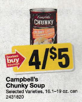 photo about Campbell Soup Printable Coupon referred to as Campbells chunky soup discount codes canada / Emphasis little one coupon