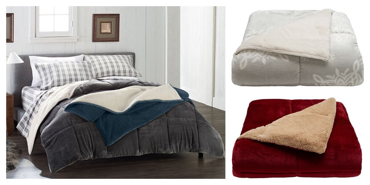 kohl's: cuddle duds cozy soft comforter just $45.19 shipped