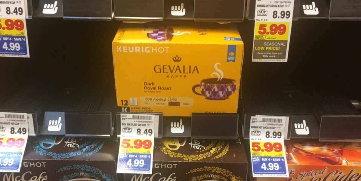 graphic regarding Gevalia Printable Coupons identify Gevalia K-Cups Merely $0.33 For every Cup at Kroger + Exceptional Bagged