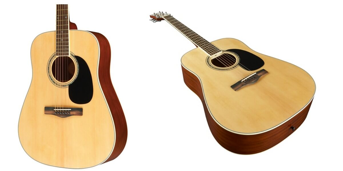 mitchell full sized dreadnought acoustic guitar reg free shipping living. Black Bedroom Furniture Sets. Home Design Ideas