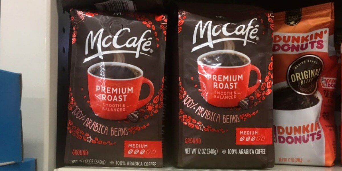mccafe Dunkin Donuts Ground Coffee Coupons