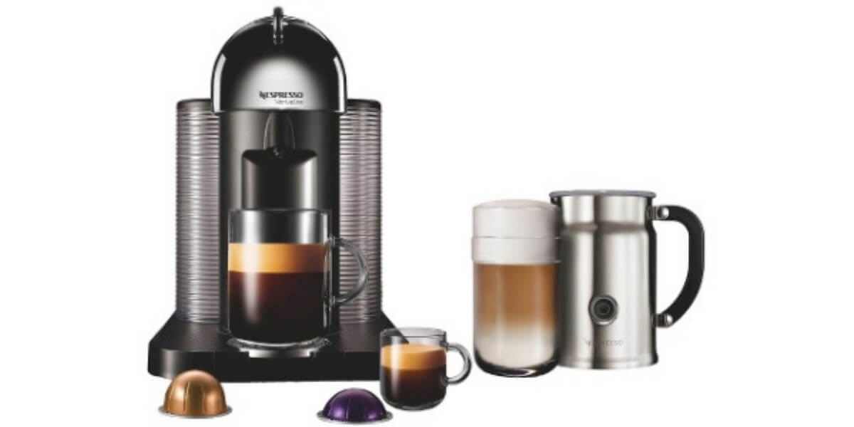 target nespresso vertuoline coffee and espresso machine. Black Bedroom Furniture Sets. Home Design Ideas