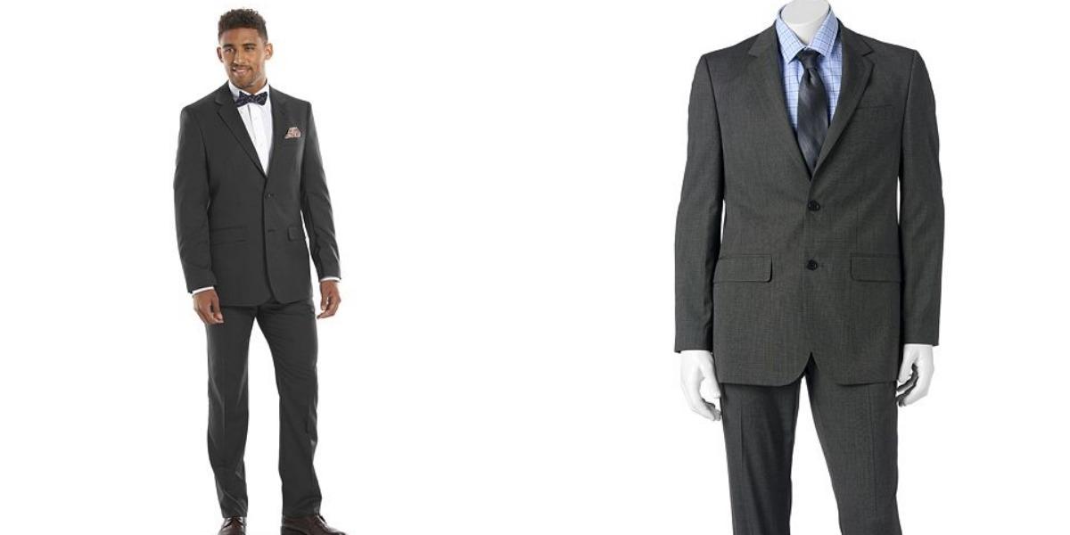 Kohl\'s: $45.99 (Reg. $300) Men\'s Apt. 9 Suits + Free ...
