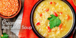 Creamy Red Lentil Soup