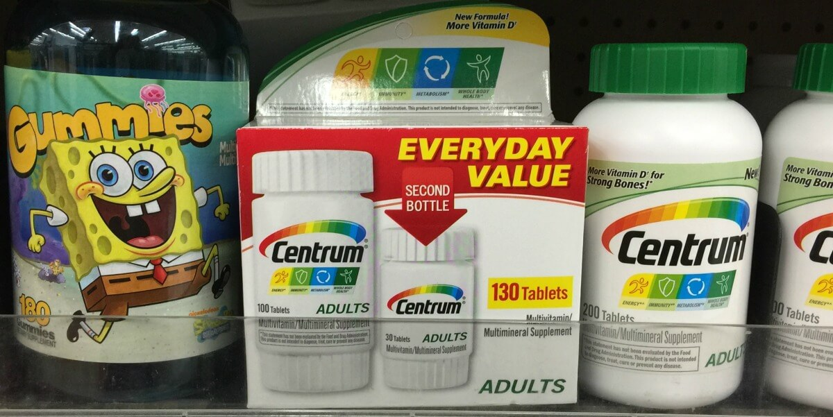 Centrum Vitamins as low as $1.12 + FREE Chapstick at Rite Aid! {8/20 & 8/21 Only}