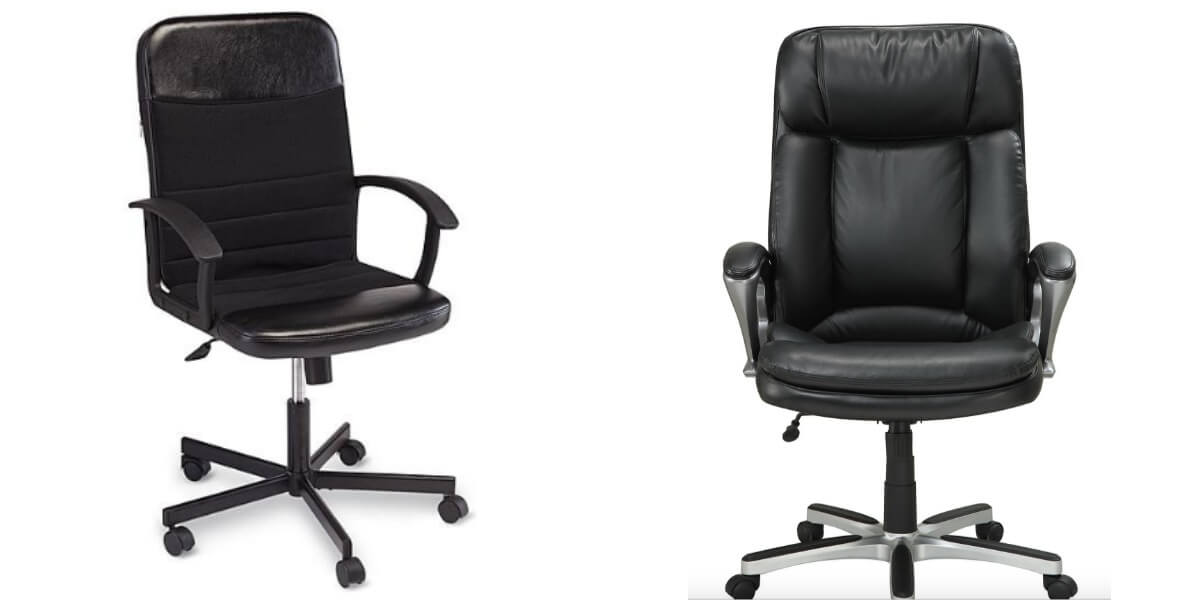 Kmart Essential Home Deluxe Office Chair 4999 4450  : chair <strong>Sears</strong> Office Chairs from www.livingrichwithcoupons.com size 1200 x 600 jpeg 30kB