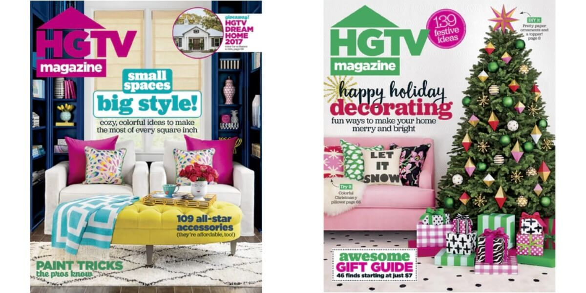 HGTV Magazine Only $11.95/Year