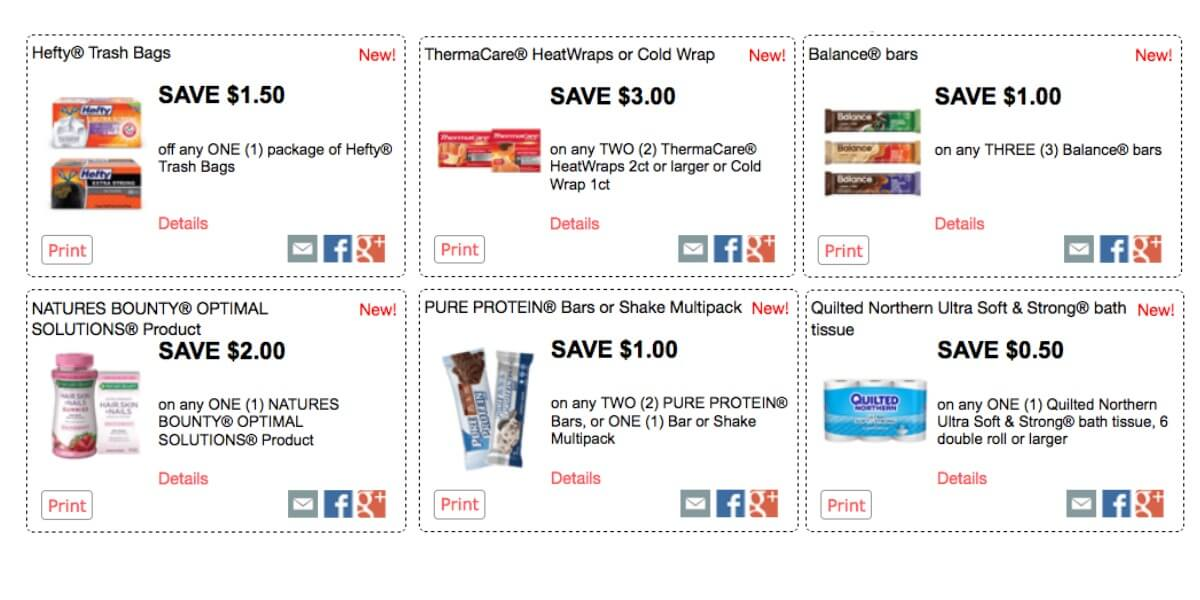 photograph relating to Hefty Printable Coupons titled About $66 in just Clean Crimson Plum Printable Discount coupons - Help you save upon Large